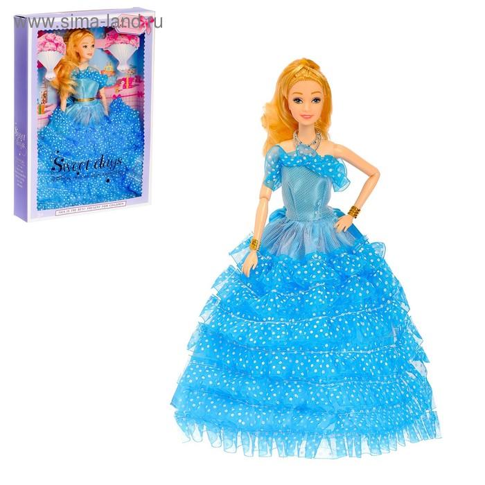 """Кукла шарнирная """"Прекрасная принцесса"""" в пышном платье ..."""