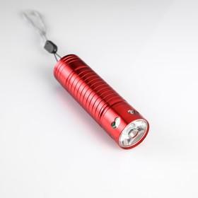 Фонарь ручной 1 LED, на рассеивателе сердца, 3 ААА, микс, 9 см микс Ош