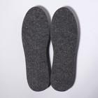 Стельки для обуви, универсальные, 35-46 р-р, пара, цвет серый