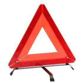 Знак аварийной остановки 42 см с пластиковым араклом Ош