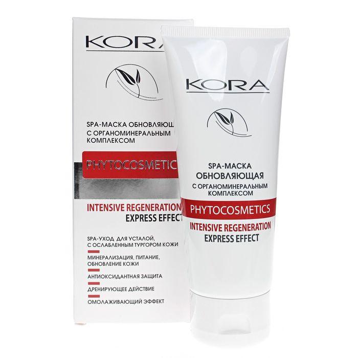 """SPA-маска для лица Kora """"Обновляющая"""" с органоминеральным комплексом, 100 мл"""