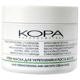 Крем-маска Kora для укрепления и роста волос, 300 мл