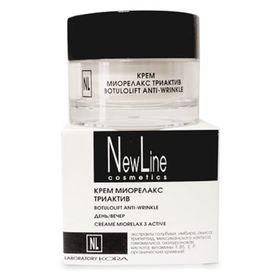 Крем New Line для лица, миорелакс триактив, 50 мл