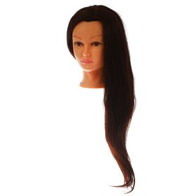 Голова тренировочная, натуральный волос 70%, 60 см Ош