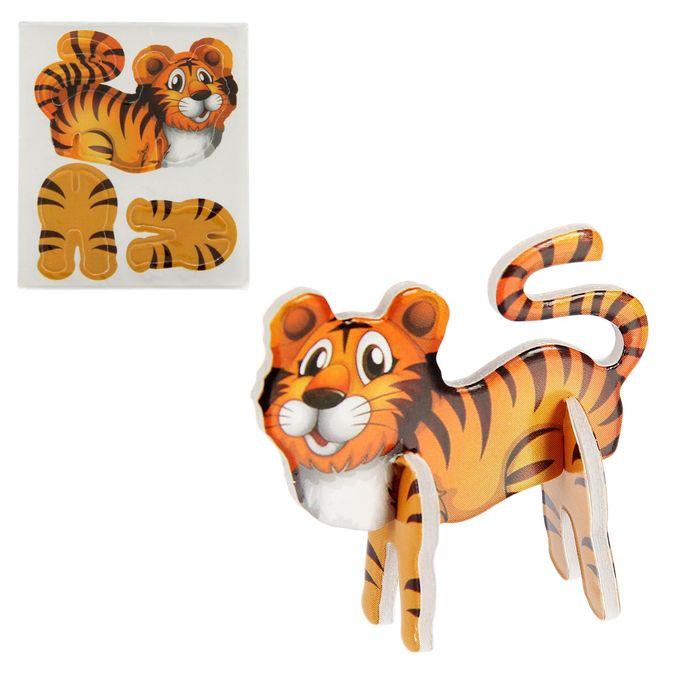 Конструктор 3D Животные, МИКС