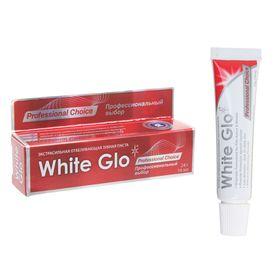 """Отбеливающая зубная паста White Glo """"Профессиональный выбор"""", 24 г"""
