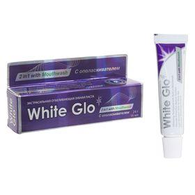 """Отбеливающая зубная паста White Glo """"2 в 1"""", 24 г"""