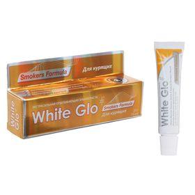 Отбеливающая зубная паста White Glo для курящих, 24 г
