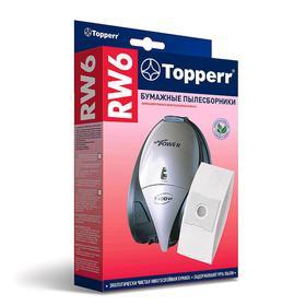 Бумажный пылесборник Topperr RW 6 для пылесосов Ош