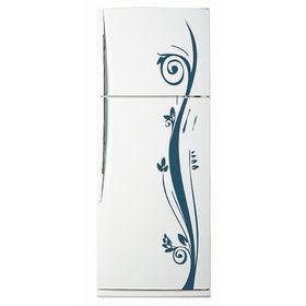 Декоративная цветная наклейка на холодильник из винила «Растение» Ош