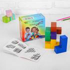Кубики «Кубики для всех», кубик: 3 × 3 см, пособие в наборе, по методике Никитина