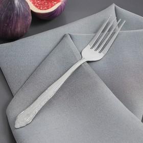 Вилка столовая Доляна «Соня», 18 см, толщина 1,2 мм