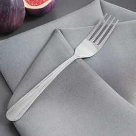 Вилка столовая Доляна «Классик», 18 см, толщина 1,2 мм