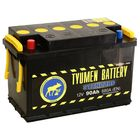 Аккумуляторная батарея Тюмень 90 Ач 6СТ-90L, Standard