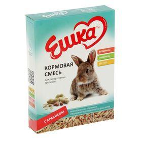 Кормовая смесь «Ешка» для декоративных кроликов, с арахисом, 450 г