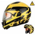 Снегоходный шлем MODE1 Blitz, жёлтый, с электростеклом, M