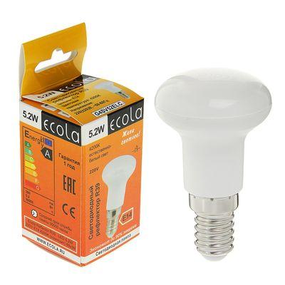 Лампа светодиодная Ecola Reflector, R39, 5.2 Вт, Е14, 4200 K, 69x39 мм