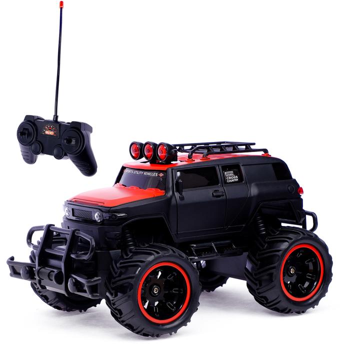 """Машина радиоуправляемая """"Бигфут"""", работает от батареек, масштаб 1:20"""