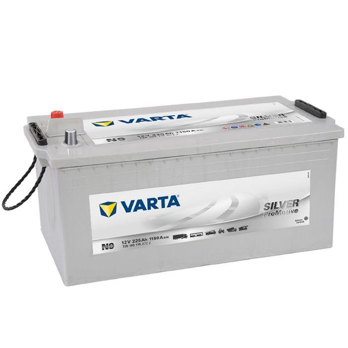 Аккумуляторная батарея Varta 225 Ач, обратная полярность PRO-motive Silver 725 103 115