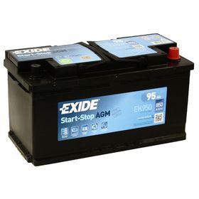 Аккумуляторная батарея Exide 95 Ач, обратная полярность Start-Stop AGM EK950 Ош