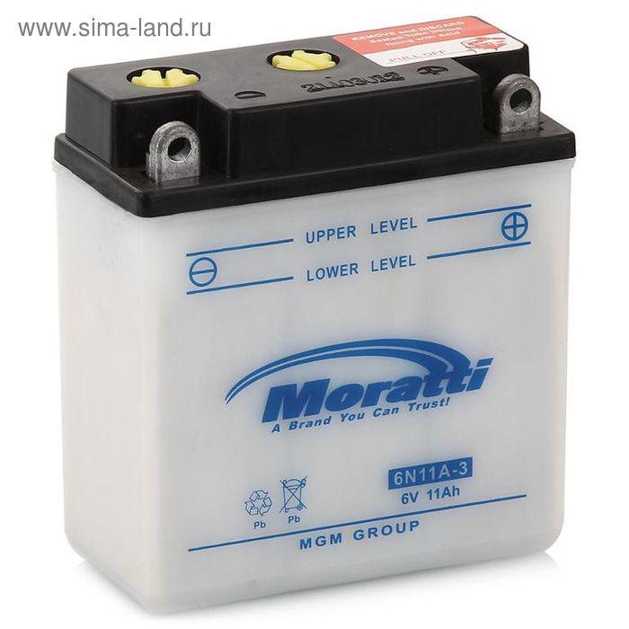 Аккумуляторная батарея Moratti 11 Ач 6N11А-3