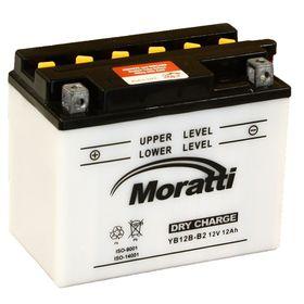 Аккумуляторная батарея Moratti 12 Ач YB12B-B2 Ош
