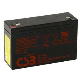 Аккумуляторная батарея CSB 12 Ач 6 Вольт GP 6120 Ош