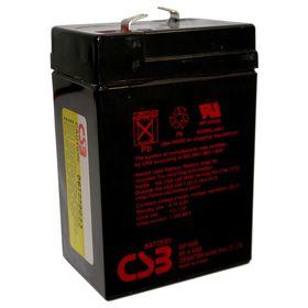 Аккумуляторная батарея CSB 4.5 Ач 6 Вольт GP 645 Ош