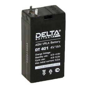 Аккумуляторная батарея Delta 1 Ач 4 Вольт DT 401 Ош