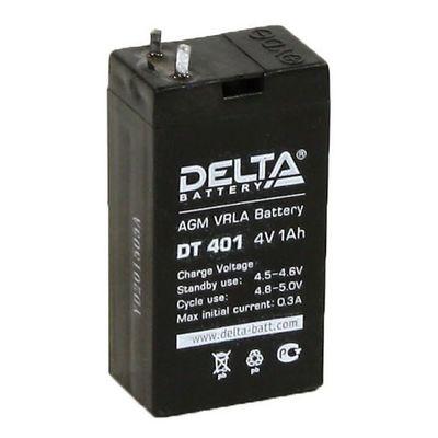 Аккумуляторная батарея Delta 1 Ач 4 Вольт DT 401