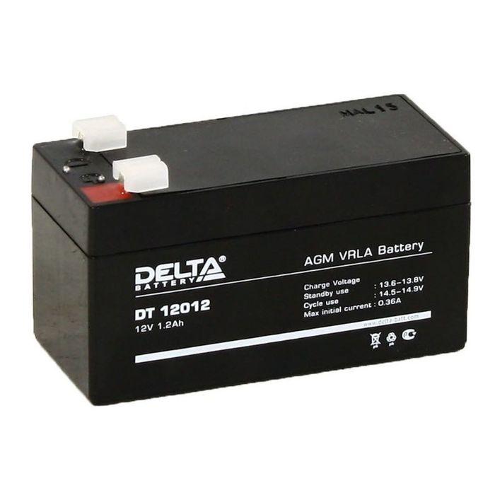 Аккумуляторная батарея Delta 1,2 Ач 12 Вольт DT 12012