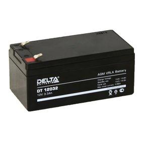 Аккумуляторная батарея Delta 3,3 Ач 12 Вольт DT 12032 Ош