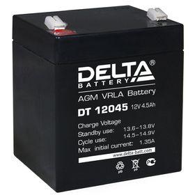 Аккумуляторная батарея Delta 4,5 Ач 12 Вольт DT 12045 Ош