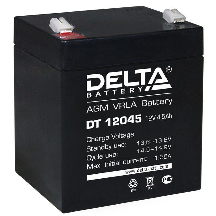 Аккумуляторная батарея Delta 4,5 Ач 12 Вольт DT 12045