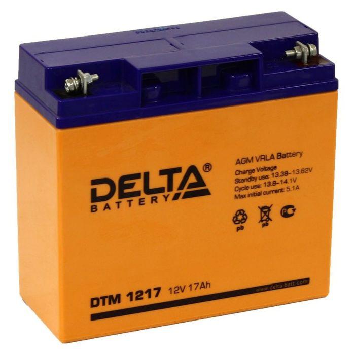 Аккумуляторная батарея Delta 17 Ач 12 Вольт DTM 1217
