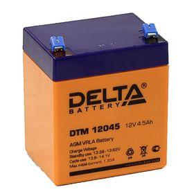 Аккумуляторная батарея Delta 4,5 Ач 12 Вольт DTM 12045 Ош