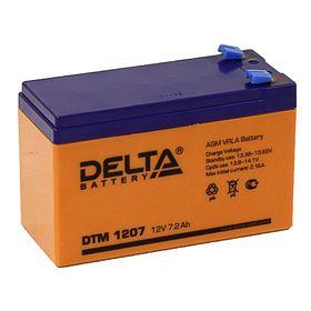 Аккумуляторная батарея Delta 7 Ач 12 Вольт DTM 1207 Ош