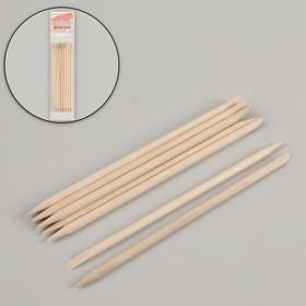 Апельсиновые палочки для маникюра, 11,4 см, 10 шт Ош