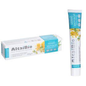 Зубная паста AltaiBio комплексный уход Мумиё-Зверобой, 100 г