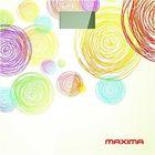 """Весы напольные Maxima MS-017, электронные, до 150 кг, """"кружки"""""""