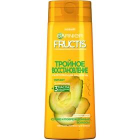 Шампунь Fructis «Тройное восстановление», для повреждённых волос, 250 мл