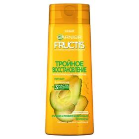 Шампунь Fructis «Тройное восстановление», для повреждённых волос, 400 мл