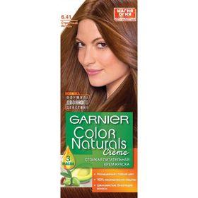 Краска для волос Garnier Color Naturals, тон 6.41, страстный янтарь
