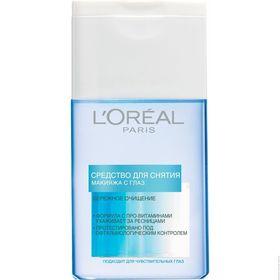Средство для снятия макияжа L'Oreal «Бережное очищение», 125 мл