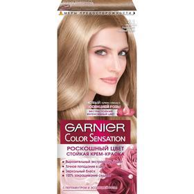 Краска для волос Garnier Color Sensation «Роскошный цвет», тон 8.1, роскошный северный русый