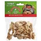 Лакомство TitBit для собак, плетенки из кожи, мягкая упаковка