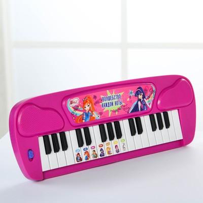 Синтезатор «Волшебные мелодии», феи ВИНКС, работает от батареек, цвета МИКС - Фото 1