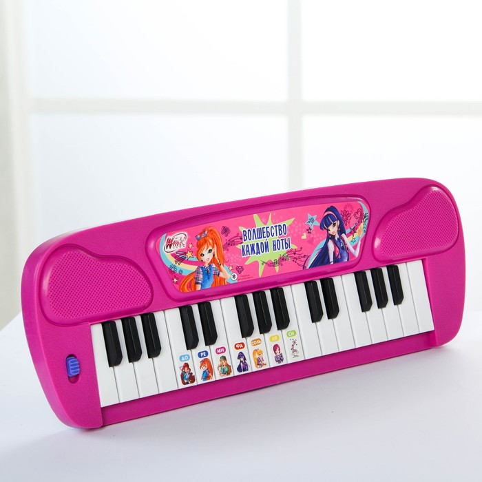Синтезатор «Волшебные мелодии», феи ВИНКС, работает от батареек, цвета МИКС