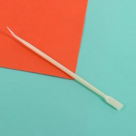 Универсальная палочка для наращивания и завивки ресниц, 13 см, цвет бежевый