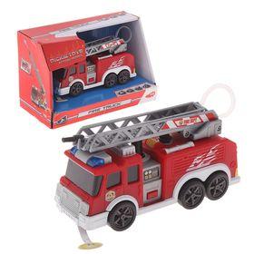 Игрушка «Пожарная машина» с водой, свет, звук, 15см